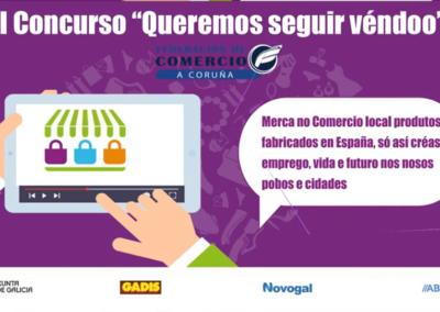 Evento virtual para la Federación Comercio Coruña
